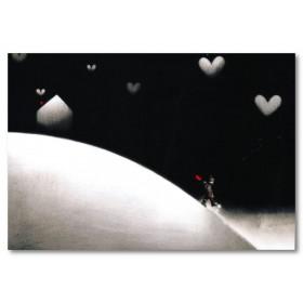 Αφίσα (αγόρι, έρωτας, αγάπη, φεγγάρι)